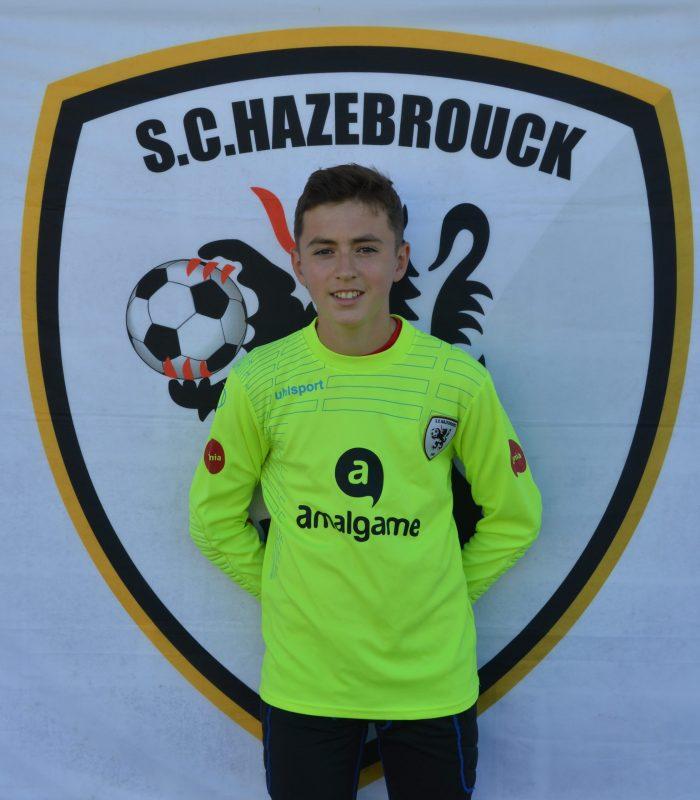 U15 Evan Duval SCH Hazebrouck SC Sporting