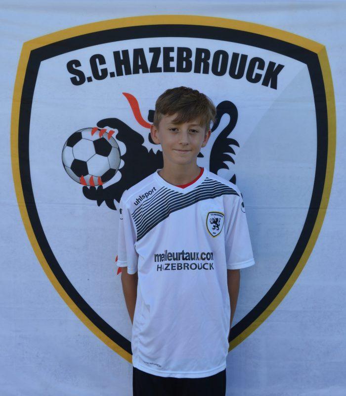 U15 Malo Blin SCH Hazebrouck SC Sporting