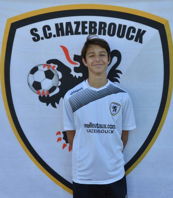 U15 Martin Devos SCH Hazebrouck SC Sporting