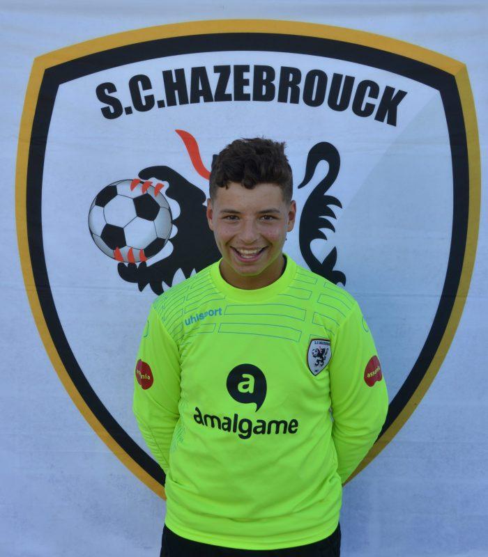 U15 Mathéo Jacob SCH Hazebrouck SC Sporting