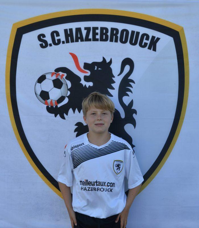 U15 Oscar Deneux Cappelaere SCH Hazebrouck SC Sporting