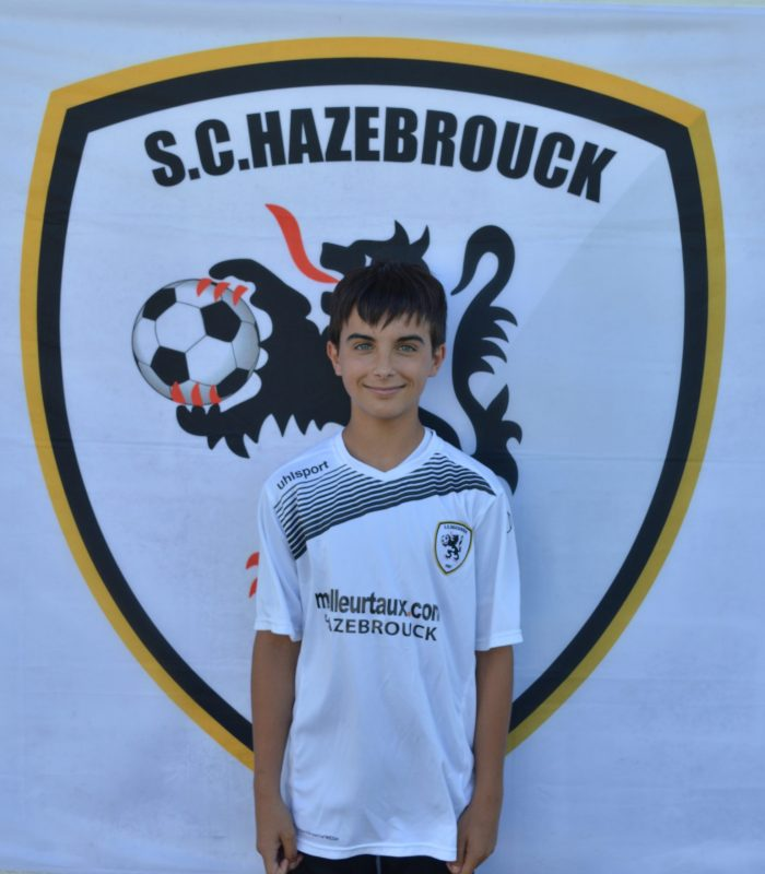 U15 Paco Valenton SCH Hazebrouck SC Sporting
