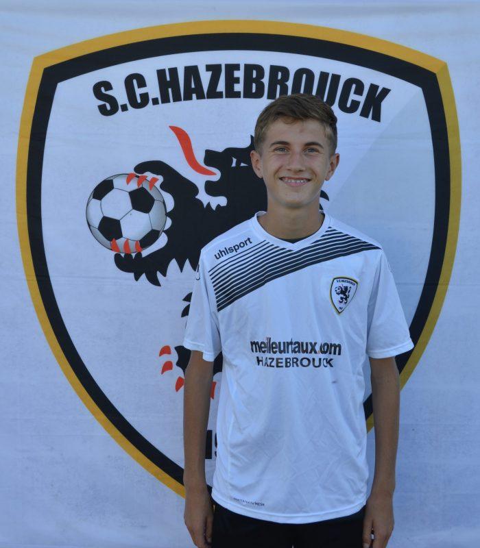 U15 Rafael Billiau SCH Hazebrouck SC Sporting