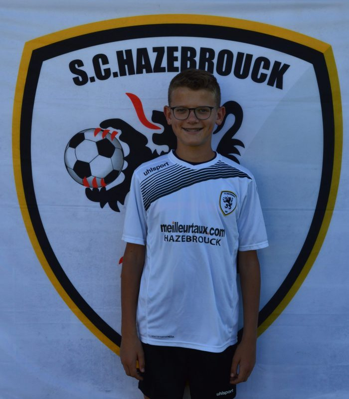 U15 Raphael Mahieuw SCH Hazebrouck SC Sporting