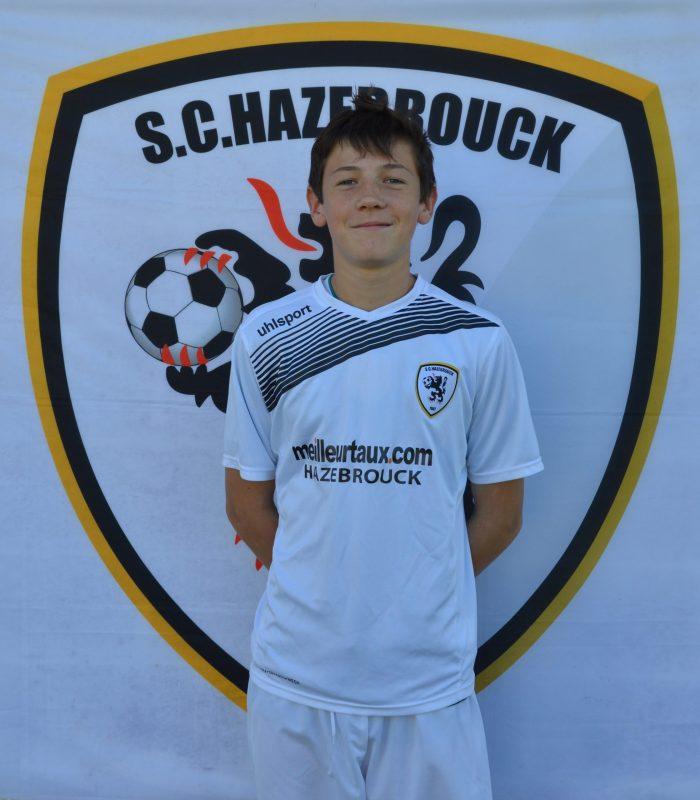 U15 Yael Rocar SCH Hazebrouck SC Sporting