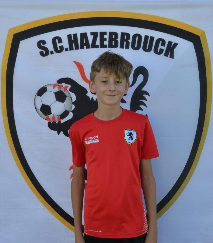 U7 Malo Blin Educateur SCH Hazebrouck SC Sporting