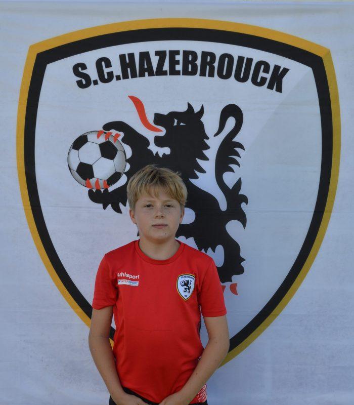 U7 Oscar Deneux Cappelaere Educateur SCH Hazebrouck SC Sporting